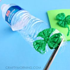 What's New Wednesday - The Best St. Patrick's Day Crafts For Kids Ideas - Part 2 St Patricks Day Crafts For Kids, St Patrick's Day Crafts, Holiday Crafts, Kids Crafts, Toddler Learning Activities, Preschool Games, Book Activities, Cool Art Projects, Projects For Kids