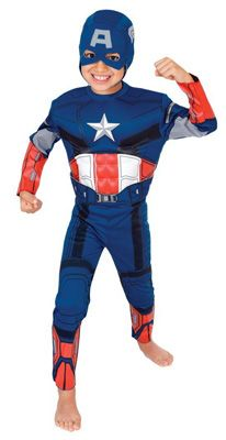 Costume di Capitan America per bambini