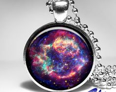 Orion Nebula Pendant, Galaxy Necklace, Space Jewelry Art Pendants, STAR PENDANT, universe stars space gift for men for women-12.95$ Etsy