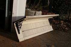 Shutter Shelves. $35.00, via Etsy.