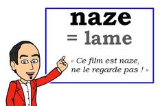 C'est trop naze = It sucks French Slang, French Grammar, French Phrases, French Words, French Quotes, French Language Lessons, French Language Learning, Learn A New Language, French Lessons
