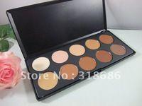 Laberíntico amor 1 unid maquillaje corrector 10 colores profesional de Concealer palette