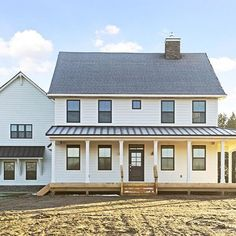 You just can't beat a clean white farmhouse. #StillwaterCustom2015 #Gonyea