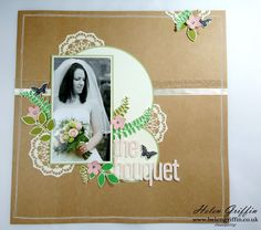 Simply Cards & Papercraft Scrapbook Pages & Tutorials – Helen Griffin Love Scrapbook, Scrapbook Storage, Scrapbook Albums, Scrapbook Layouts, Scrapbooking Ideas, Papercraft, Paper Art, Scrapbooks, Scrapbooking Layouts