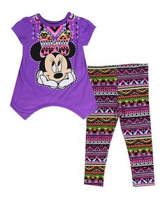 Minnie Mouse Geo Sidetail Top & Leggings - Infant & Toddler