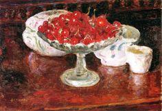Bowl of Cherries Pierre Bonnard - 1920