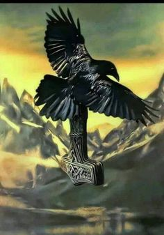 the crow of Odin and Thor