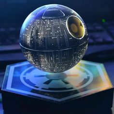 Are you a true Star Wars Fan? This is the perfect gift for Star Wars fans! You will always enjoy the high quality sound of your levitating Bluetooth Death Star Star Wars Death Star, Star Wars Bedroom, Floating, Star Wars Gifts, Mo S, Darth Vader, For Stars, Cool Gadgets, Dark Side