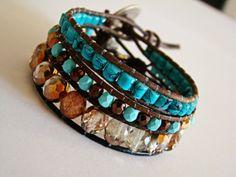 Ethnic bracelet by yespupa on Etsy, $19.90