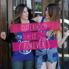 Sisterhood is forever. #GoGreek | Adam Block Design