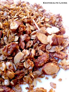 5 Grain Granola with Flax and Coconut
