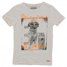 Vingino - T-shirt Omara wit