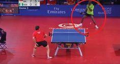 41 coups en 40 secondes: l'échange dans ce match de tennis de table est à voir!