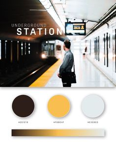 37 Beautiful Color Palettes For Your Next Design Project - Web-Design Movie Color Palette, Flat Color Palette, Colour Pallette, Photography Website Design, Web Colors, Affinity Photo, Color Plan, Color Psychology, Psychology Facts