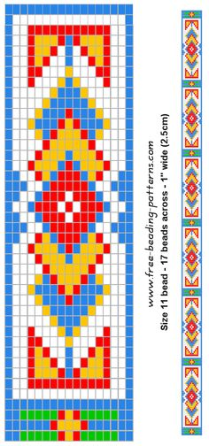 Beliebt Free Printable Loom Beading Patterns | loom beading bracelet  CQ36
