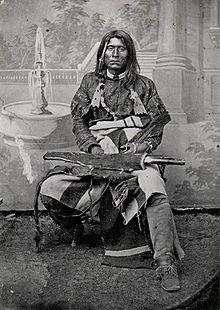 Kintpuash in 1864 / Kintpuash (Strikes the water brashly), better known as Captain Jack (circa 1837 - October 3, 1873), was a chief of the Native American Modoc tribe of California and Oregon, and was their leader during the Modoc War.jpg