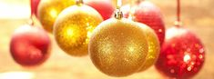 Gold Christmas Ornament Images for Facebook - Photo Christmas Tree Ornaments Preview