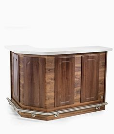 Rem Montana Reception Desk, popular reception desk with styling to reflect a typical English bar with large storage area to the rear. Salon Reception Desk, Shop Desk, Barber Shop Decor, Laminate Colours, Salon Furniture, Montana, Salons, Storage, Hair