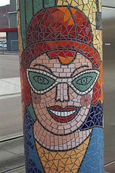 Mosaics have been around for centuries. It is the art of creating images by assembling small pieces of stones, glass or any other materials that have some