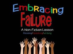 This expository, non-fiction lesson engages students in a discussion about self-esteem and the importance of failure. I have provided links to several articles and youtube videos that will challenge students to think critically about the topic. The questions provided require them to illustrate their comprehension of the readings and to extend their understanding as they make connections to their own lives. Options and rubrics are included for written assignments.