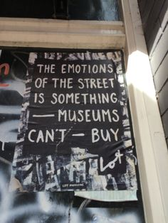 Spotted this just after visiting a great museum... Amsterdam, September 2015.