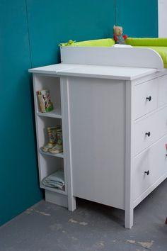 ikea hemnes changing table 25 pinterest. Black Bedroom Furniture Sets. Home Design Ideas