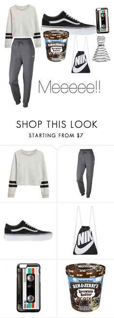 """""""This is me"""" by mare122106 ❤ liked on Polyvore featuring NIKE and Vans"""