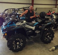 Thanks to Keith Barnes from Deatsville AL for getting a 2016 Can Am Outlander Xmr 1000 at Hattiesburg Cycles