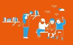 Worl map. Dataviz. Votre rendez-vous avec le monde L'Institut national des langues et civilisations orientales (INALCO), dit « Langues O », est un établissement français d'enseignement supérieur et de recherche chargé d'enseigner les langues et civilisations autres que celles originaires d'Europe occidentale. http://www.grapheine.com/portfolio/depliant-inalco