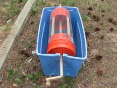 My homemade Worm Bin and Worm Casting Harvester