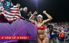 Misty May-Treanor, one of a kind Hall of Famer