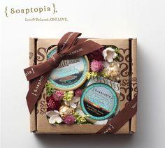 【Soaptopia】Flower Gift Set I/ソープ&シアバター