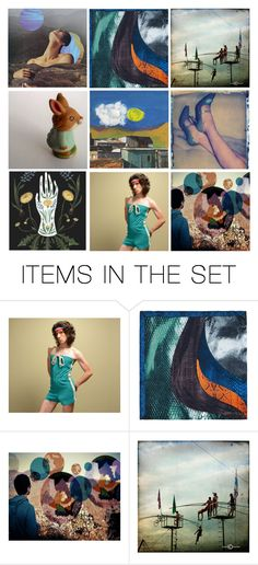"""Stranger in a Strange Land"" by artsdesireable ❤ liked on Polyvore featuring art"