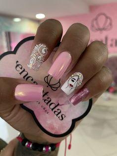 Hello Nails, Lady Fingers, Pink Nail Art, Nail Art Designs, Make Up, Tattoos, Beauty, Nail Arts, Pretty Nails