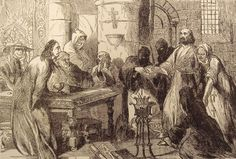 Knights Templar: The interrogation of Jacques De Molay, the last Grand Master of the #Knights #Templar.