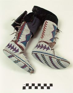 Fully Beaded Moccasins/soles, and Leggings Native American Clothing, Native American Photos, Native American Crafts, Native American Beadwork, Native American History, Native American Indians, Native Americans, Blackfoot Indian, Native Indian