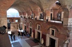 Trajan's Market interior view