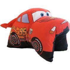 Disney Pixar Cars 2 Lightning Pillowtime Play Pal Boys Bedroom Paint, Car Bedroom, 1 Yr Old Toys, Disney Cars Bedroom, Car Themed Rooms, Fleece Tie Blankets, Car Nursery, Cuddle Pillow, Lightening Mcqueen