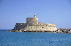 Forteresse Saint-Nicholas à Rhodes