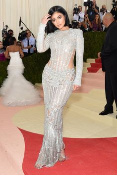 Pin for Later: Kylie and Kendall Jenner Left Little to the Imagination at the Met Gala