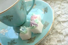 Decorated sugar cubes - so dainty