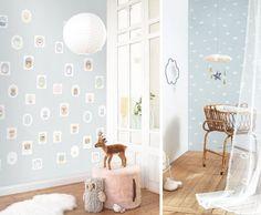 Esta nueva temporada las decoraciones para dormitorios infantiles en tonos suaves estan muy,muy a la moda! https://papelvinilicoonline.com/es/209-my-little-world