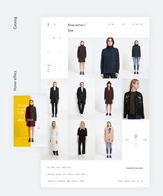 Samsøe & Samsøe on Behance Portfolio Web Design, Online Portfolio, Hunter Online, Great Websites, Ui Ux Design, Graphic Design, Ui Web, Catalog Design, Fashion Catalogue