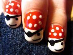 Arrr!!!!! nail-art