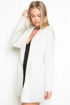 Brandy ♥ Melville | Ayara Hoodie Cardigan - Clothing