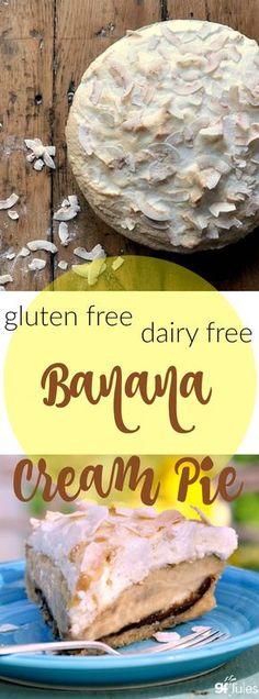 Gluten Free Dairy Free Banana Cream Pie More