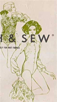 1960s Stretch & Sew 790  Ladies Body Blouse BODYSHIRT womens vintage sewing pattern  by mbchills