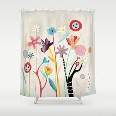 Shower Curtain by rupydetequila on Etsy