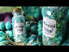 Mermaid Tears In a Bottle Charm
