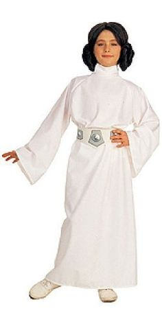 Face off with Darth Vader in a Deluxe Princess Leia Costume! This authentic Star Wars Princess Leia Costume for girls features a long, white dress with wig and belt. Kids Star Wars Costumes, Costume Star Wars, Halloween Costumes For Girls, Girl Costumes, Children Costumes, Costume Halloween, Halloween Clothes, Party Costumes, Girl Halloween